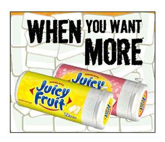 Juicy Fruit - Expandable Big Box - 6