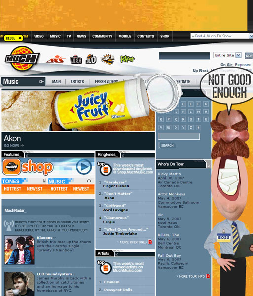 Juicy Fruit - Banner Game Boss - 6
