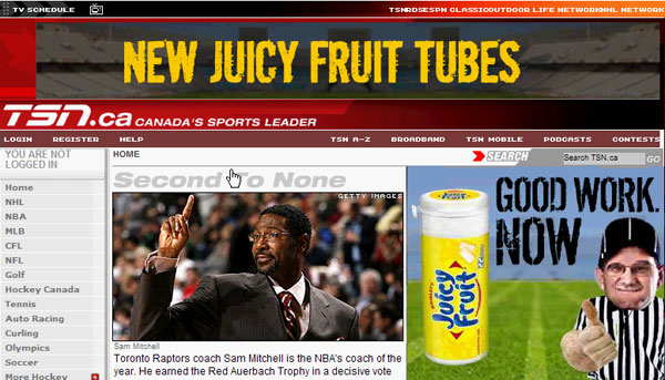 Juicy Fruit - Banner Game Coach - 7