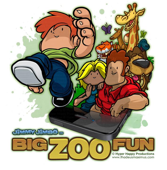Big Zoo Fun - Phone Jump