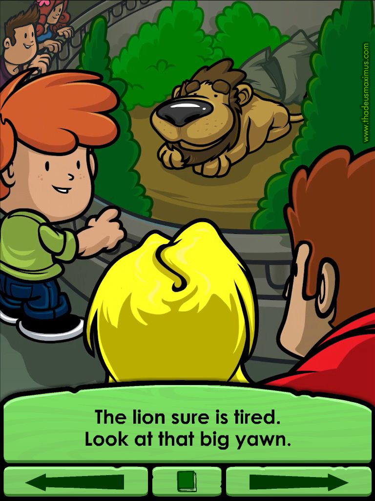 Big Zoo Fun - The Lion.