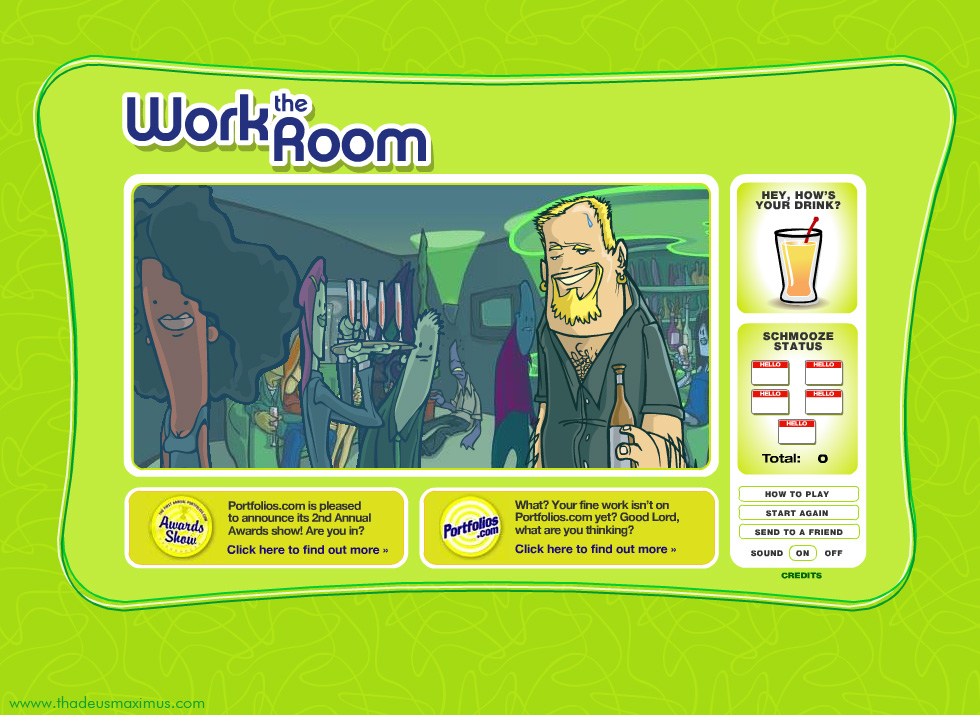 Work The Room -  Beer Guy