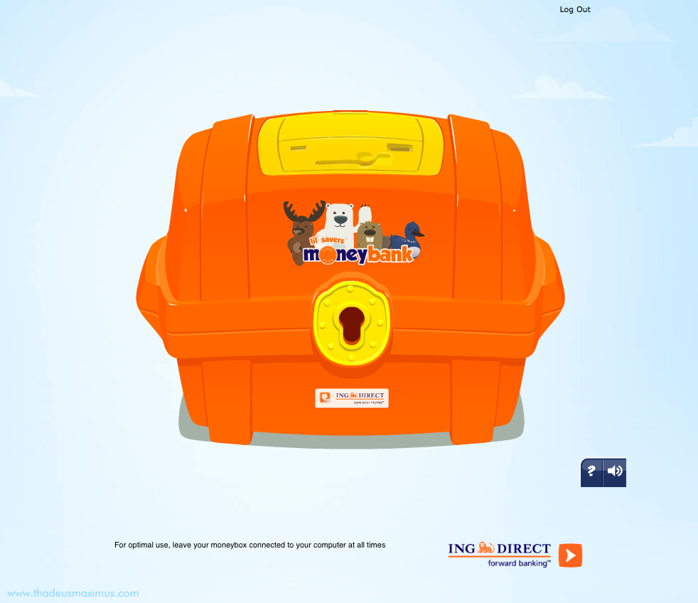 ING - Lil' Savers Money Bank - Intro