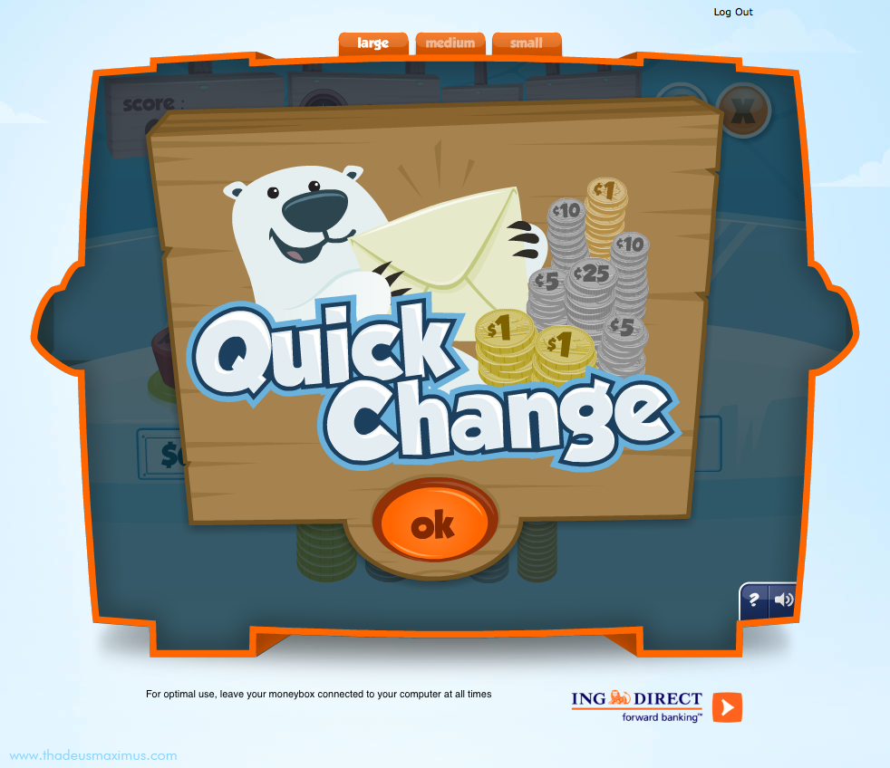 ING - Lil' Savers Money Bank - Quick Change 1