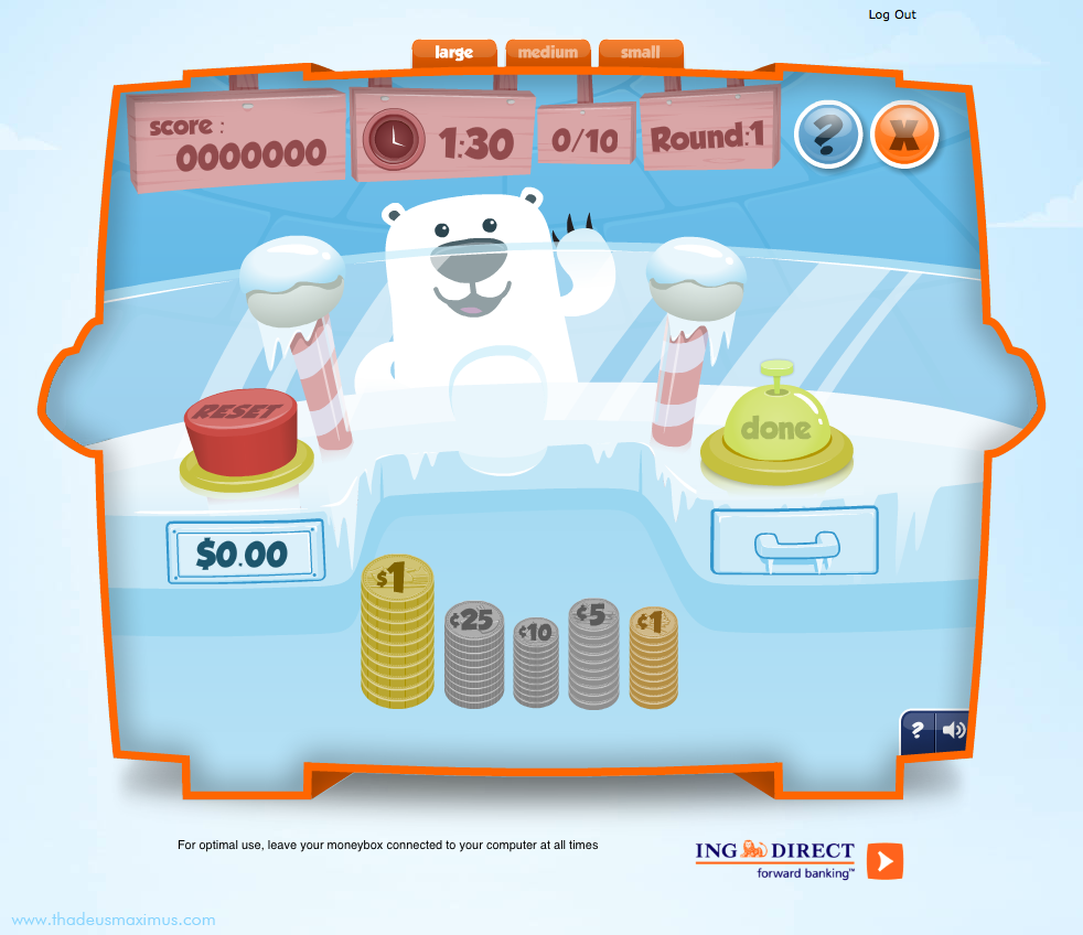 ING - Lil' Savers Money Bank - Quick Change 2