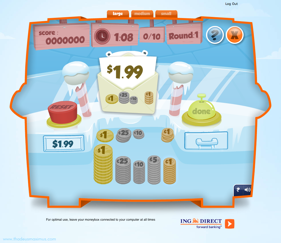 ING - Lil' Savers Money Bank - Quick Change 3