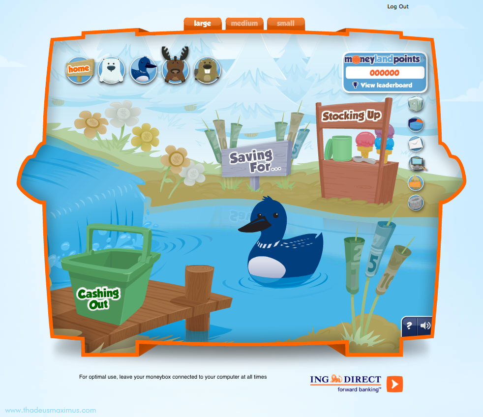 ING - Lil' Savers Money Bank - Loon