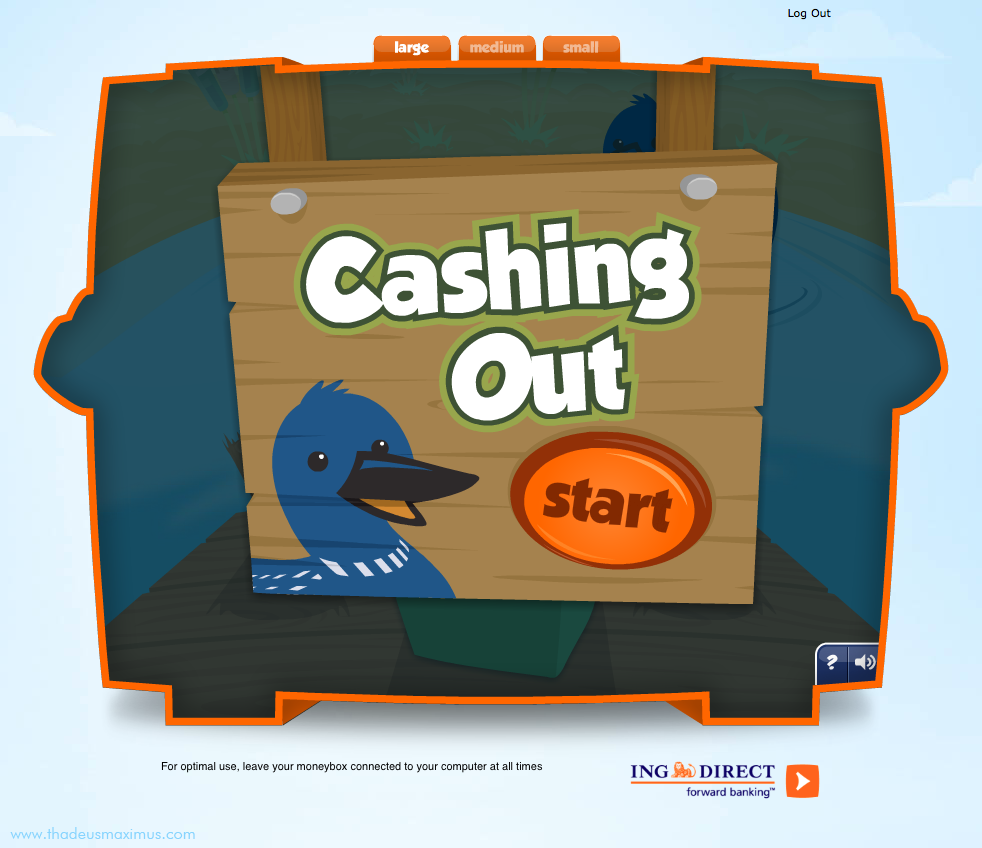 ING - Lil' Savers Money Bank - Cashing Out 1