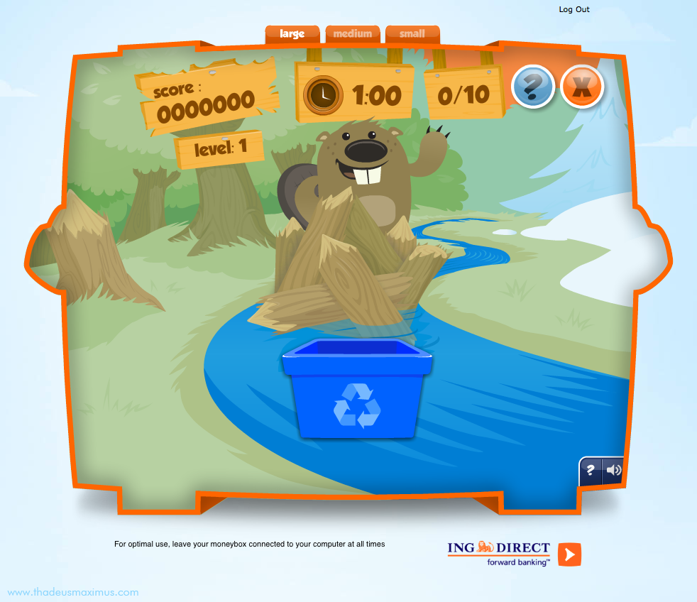 ING - Lil' Savers Money Bank - Recycle Me 3