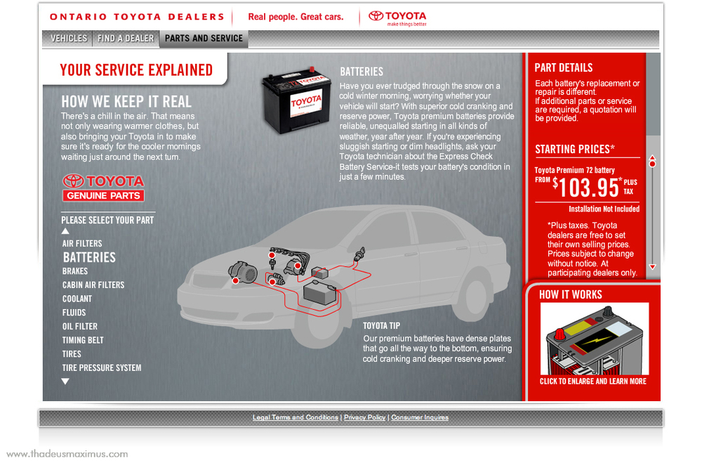 OTDA - Parts and Service - Batteries 1