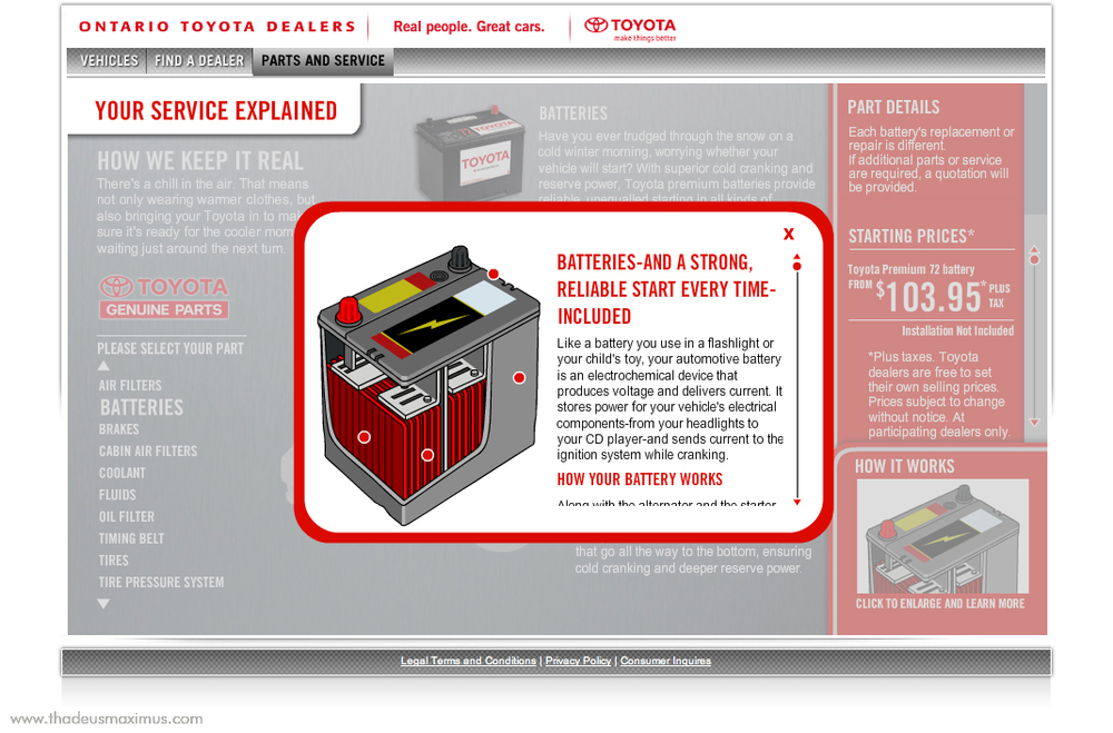 OTDA - Parts and Service - Batteries 2