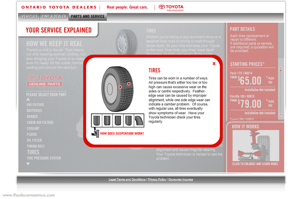 OTDA - Parts and Service - Tires 1