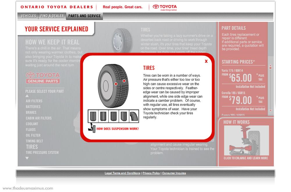 OTDA - Parts and Service - Tires 1