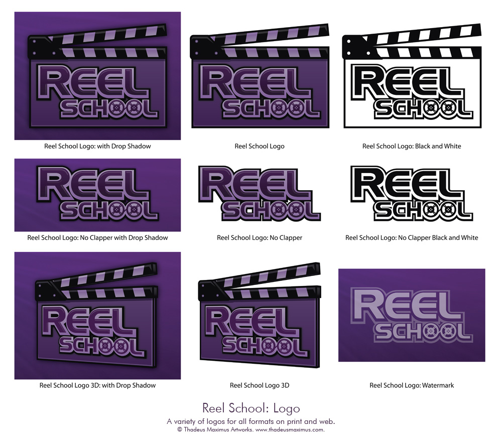 Reel School: Logo