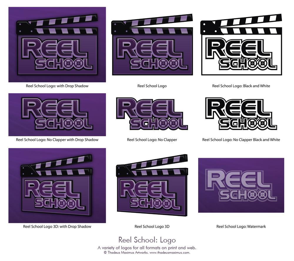 Reel School: Logo