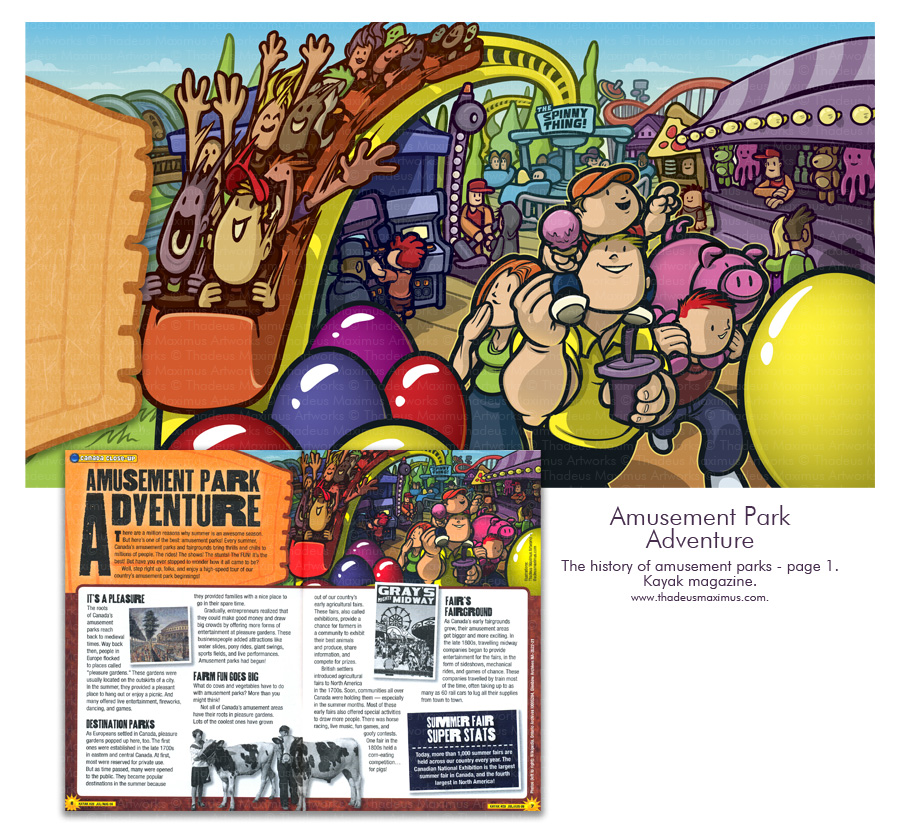 Kayak Magazine - History Of Theme Parks - 1