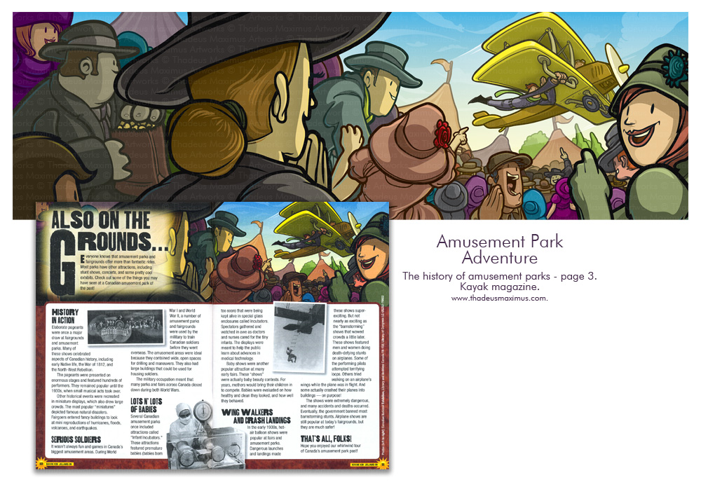 Kayak Magazine - History Of Theme Parks - 3
