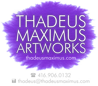THADEUS MAXIMUS ARTWORKS