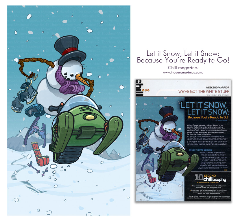Kayak Magazine - Let it Snow, Let it Snow, Because You're Ready to Go!
