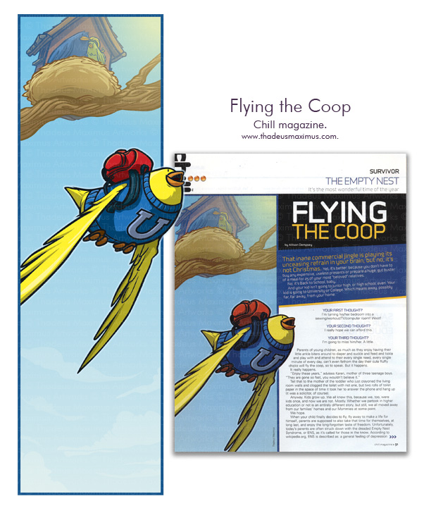 Chill Magazine - Flying the Coop