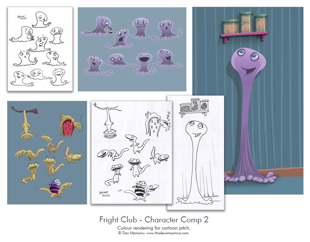Fright Club - Character Comp 2