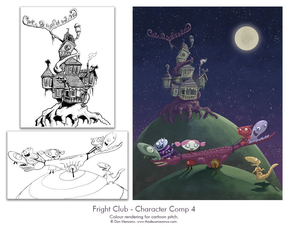 Fright Club - Character Comp 4