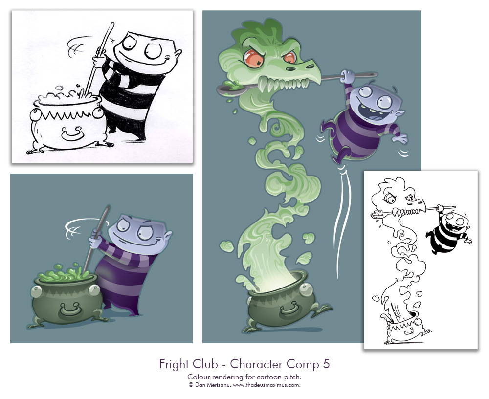 Fright Club - Character Comp 5