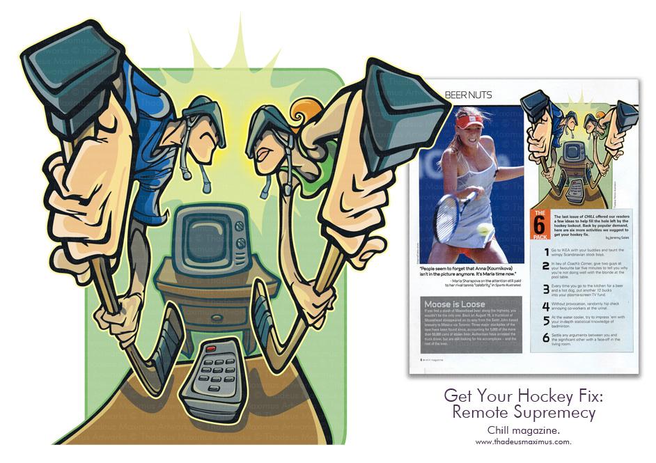 Chill Magazine - Get Your Hockey Fix: Remote Supremacy