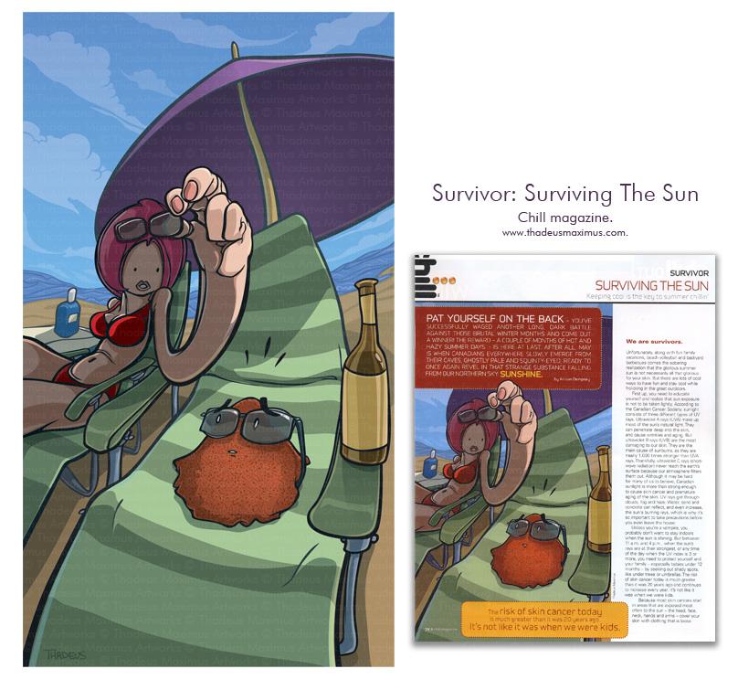 Chill Magazine - Survivor: Surviving the Sun