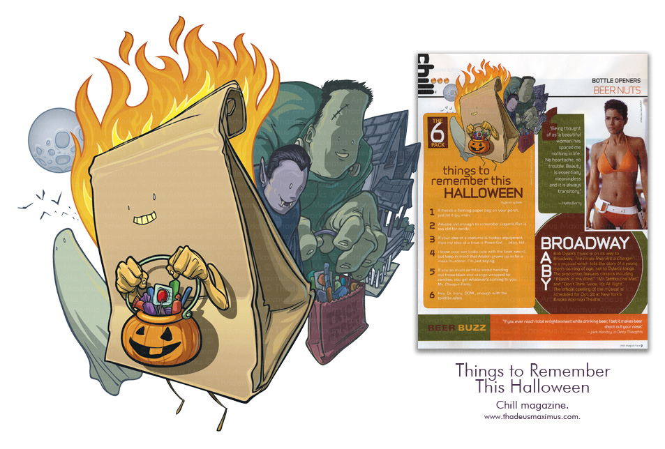 Chill Magazine - Things to Remember This Halloween