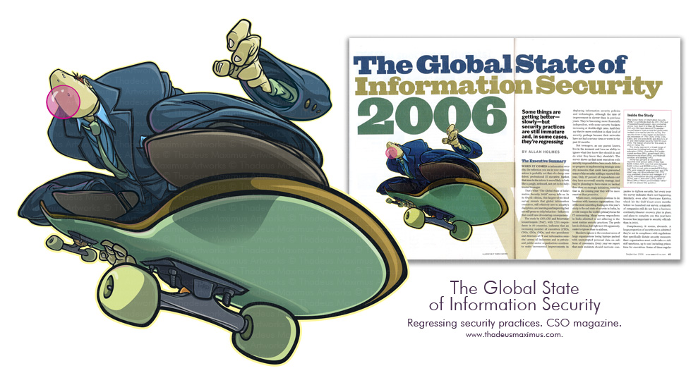 CSO Magazine - The Global State of Information Security