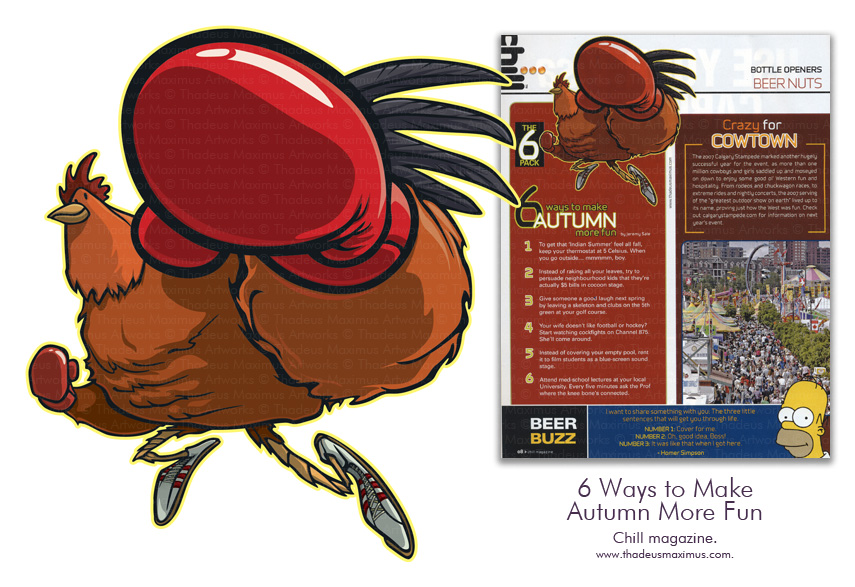 Chill Magazine - 6 Ways To Make Autumn More Fun