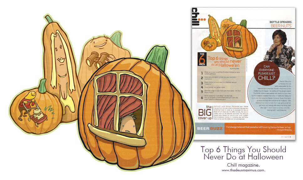 Chill Magazine - Top 6 Things You Should Never Do at Halloween