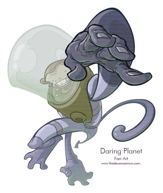 Daring Planet - Fan Art