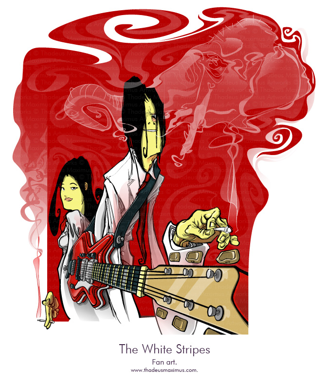 The White Stripes - Fan Art