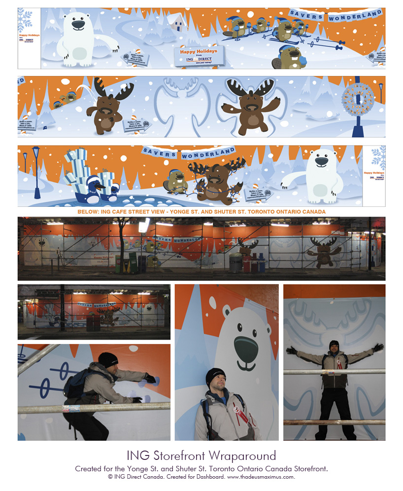 ING: Storefront Wrap-Around