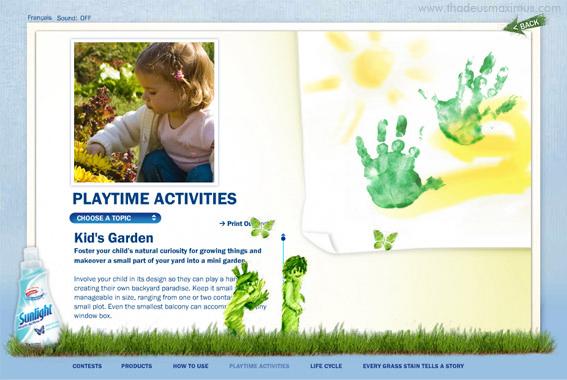 Sunlight - Every Grass Stain Tells a Story - Playtime Activities