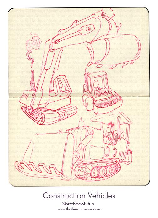 Thadeus Maximus Artworks - Sketch - Mechanical Majesty