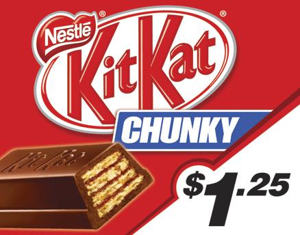 Vend Men Product Sample - Kit Kat Chunky