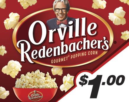 Vend Men Product Sample - Orville Redenbacher's Popcorn