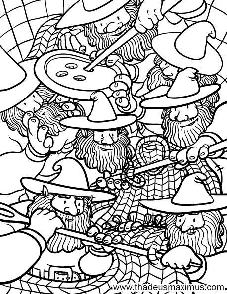 Yarn Crush Colouring Book - Knomes