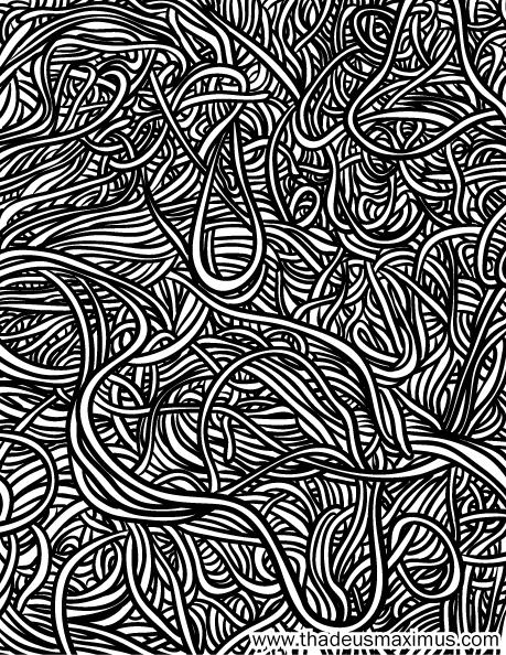 Yarn Crush Colouring Book - Yarn Mess