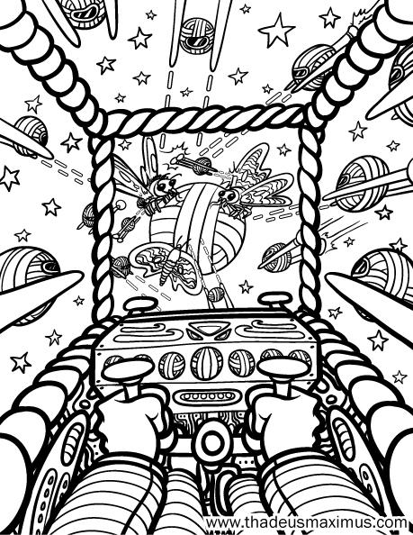 Yarn Crush Colouring Book - Star Wars