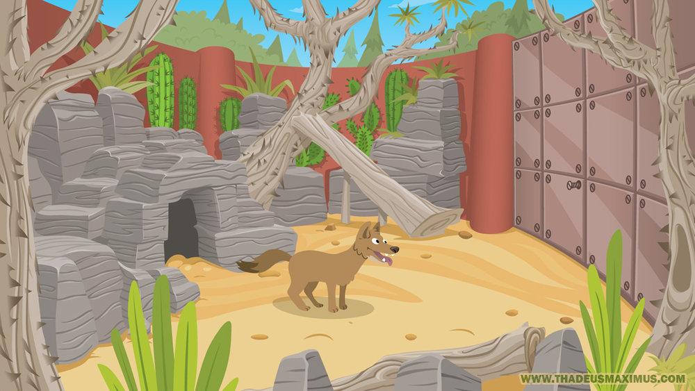 Big Zoo Fun - Sketchbook containing concept art.