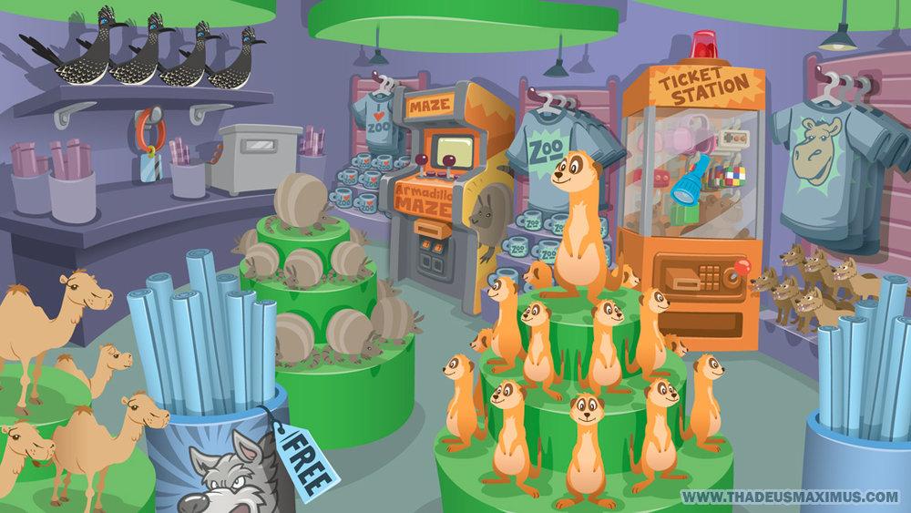 The GreatZoo Escape 2: Gift Shop