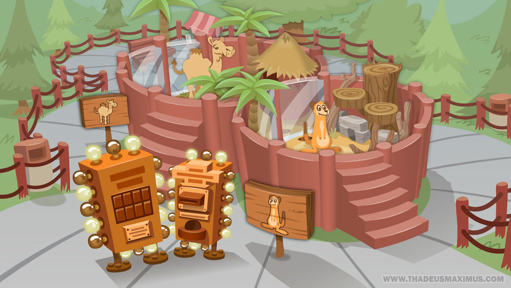 The GreatZoo Escape 2: Map - Zoom Middle