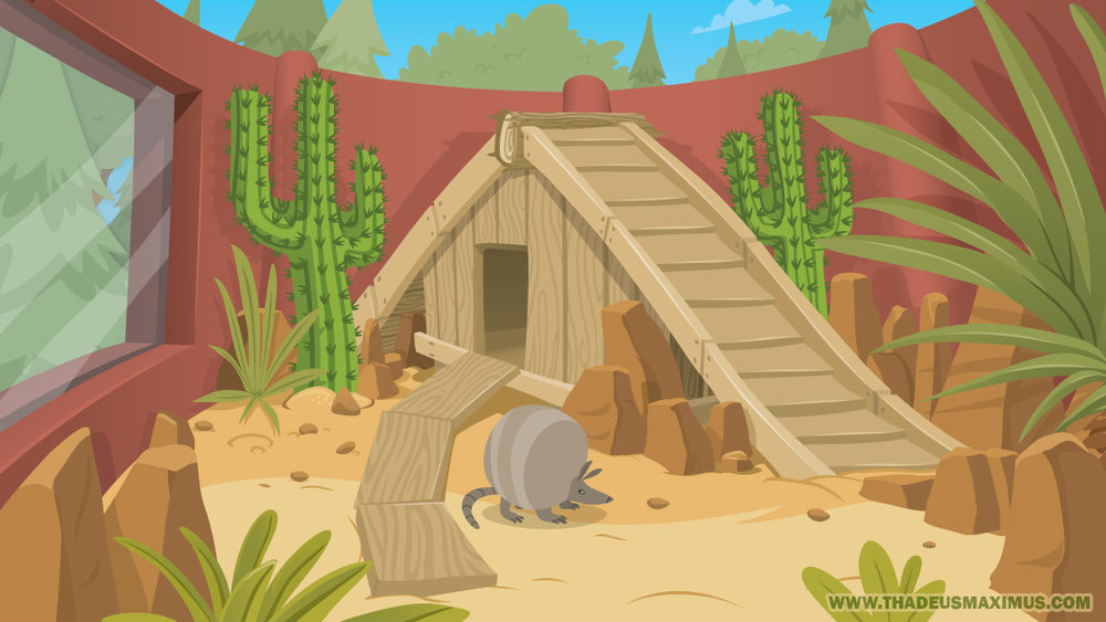 The GreatZoo Escape 2: Armadillo