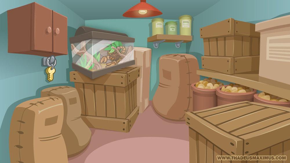 The GreatZoo Escape 2: Food Room