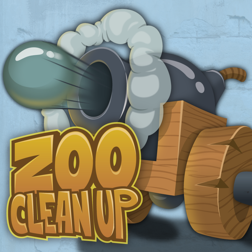 Zoo Clean Up: App Logo