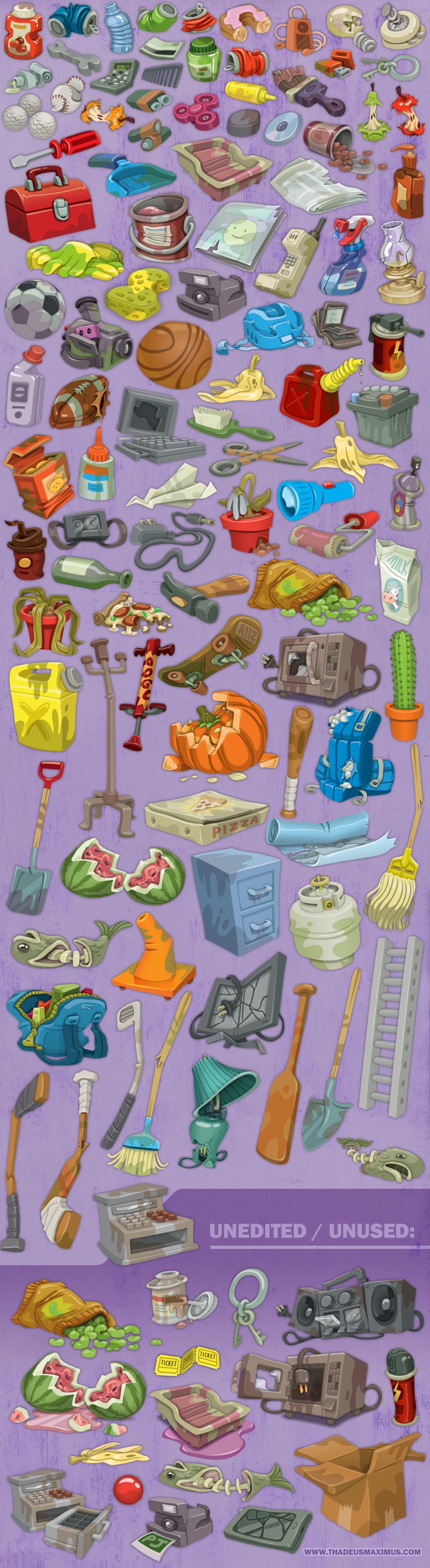 Zoo Clean Up: Searchable Objects